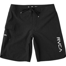 ルーカ RVCA メンズ 海パン 水着・ビーチウェア【Eastern 20in Swim Trunk】All Black