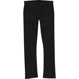 ルーカ RVCA メンズ ジーンズ・デニム ボトムス・パンツ【Stay Jean】Black
