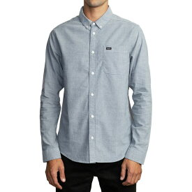 ルーカ RVCA メンズ シャツ トップス【That'll Do Stretch Long - Sleeve Shirt】Distant Blue