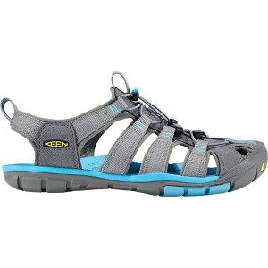 キーン KEEN レディース サンダル・ミュール シューズ・靴【Clearwater CNX Sandal】Gargoyle/Norse Blue