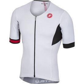 カステリ Castelli メンズ トライアスロン トップス【Free Speed Race Tri Jersey】White