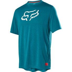 フォックス レーシング Fox Racing メンズ 自転車 ショートパンツ トップス【Ranger Dri - Release Short - Sleeve Jersey】Maui Blue
