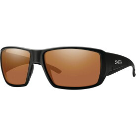 スミス Smith メンズ スポーツサングラス 【Guide's Choice ChromaPop Polarized Sunglasses】Matte Black/Copper Polarized