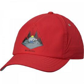 コロンビア Columbia レディース キャップ 帽子【Washed Out Ball Cap】Mountain Red