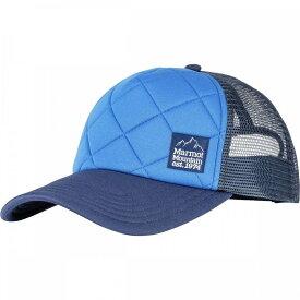 マーモット Marmot レディース キャップ トラッカーハット 帽子【Winter Trucker Hat】Surf/Arctic Navy