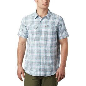 コロンビア Columbia メンズ 半袖シャツ トップス【Silver Ridge Short - Sleeve Seersucker Shirt】Sky Blue Tartan Plaid