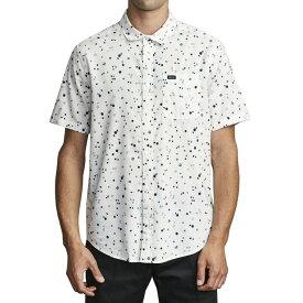 ルーカ RVCA メンズ 半袖シャツ トップス【Calico Short - Sleeve Shirt】Antique White