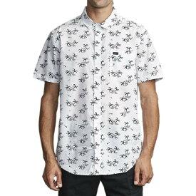 ルーカ RVCA メンズ 半袖シャツ トップス【Easy Palms Short - Sleeve Shirt】Antique White