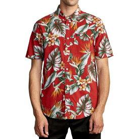 ルーカ RVCA メンズ 半袖シャツ トップス【Montara Short - Sleeve Shirt】Red
