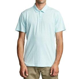 ルーカ RVCA メンズ ポロシャツ トップス【Sure Thing II Polo Shirt】Dusty Aqua