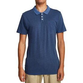 ルーカ RVCA メンズ ポロシャツ トップス【Sure Thing II Polo Shirt】Moody Blue