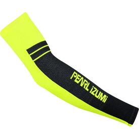 パールイズミ Pearl Izumi レディース 自転車 アームウォーマー サポーター【Select Thermal Lite Arm Warmers】Screaming Yellow Black Stripe