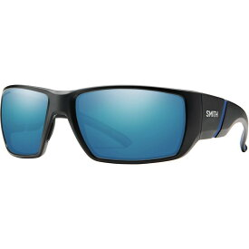 スミス Smith ユニセックス スポーツサングラス 【Transfer XL ChromaPop Polarized Sunglasses】Matte Black/Polarized Blue Mirror