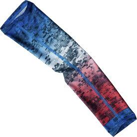 コロンビア Columbia レディース 自転車 サポーター【Freezer Zero Arm Sleeves】Americana Fade Camo