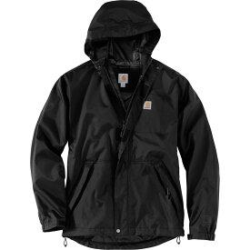 カーハート Carhartt メンズ レインコート アウター【Dry Harbor Jacket】Black