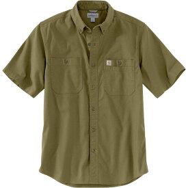 カーハート Carhartt メンズ 半袖シャツ トップス【Rugged Flex Rigby Short - Sleeve Work Shirt】Military Olive