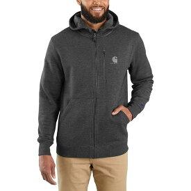 カーハート Carhartt メンズ パーカー トップス【Force Delmont Graphic Full - Zip Hooded Sweatshirt】Black Heather
