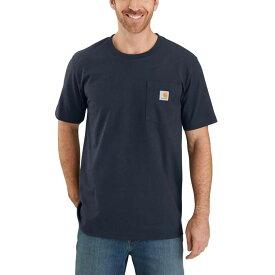 カーハート Carhartt メンズ Tシャツ トップス【TK178 Relaxed Fit Graphic T - Shirt】Navy