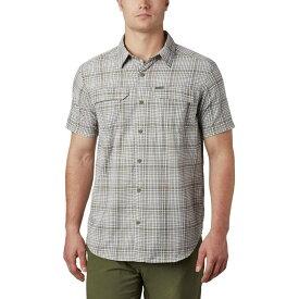 コロンビア Columbia メンズ 半袖シャツ トップス【Silver Ridge Short - Sleeve Seersucker Shirt】Sage Grid Plaid