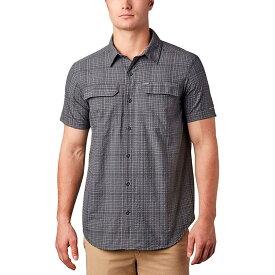 コロンビア Columbia メンズ 半袖シャツ トップス【Silver Ridge Short - Sleeve Seersucker Shirt】Shark Grid Plaid