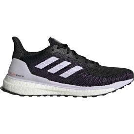 アディダス Adidas レディース ランニング・ウォーキング シューズ・靴【Solar Boost ST 19 Running Shoe】Core Black/Purple Tint/Solar Red