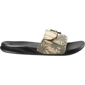 リーフ Reef メンズ サンダル スライドサンダル シューズ・靴【Stash Slide Sandal】Tan Palm