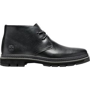 ティンバーランド Timberland メンズ ブーツ チャッカブーツ シューズ・靴【Port Union Waterproof Chukka】Black Full Grain