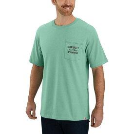 カーハート Carhartt メンズ Tシャツ トップス【TK176 Original Fit Graphic T - Shirt】Bontanic Green