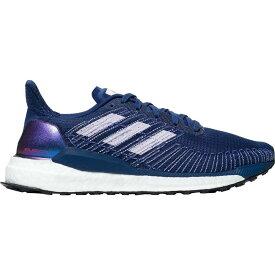 アディダス Adidas レディース ランニング・ウォーキング シューズ・靴【Solar Boost Running Shoe】Silver Metallic/Purple Tint/Solar Red