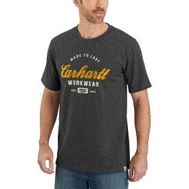 カーハート Carhartt メンズ Tシャツ トップス【tk181 relaxed fit graphic t - shirt】Carbon Heather