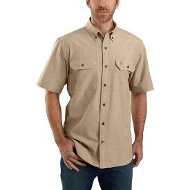 カーハート Carhartt メンズ 半袖シャツ トップス【tw369 original fit shirt】Dark Tan Chambray