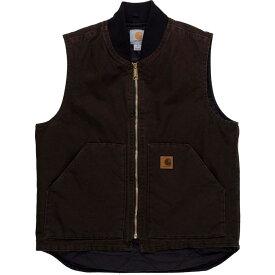 カーハート Carhartt メンズ ベスト・ジレ トップス【sandstone vest】Dark Brown