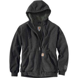 カーハート Carhartt メンズ パーカー トップス【Rain Defender Rockland Full - Zip Hooded Sweatshirt】Carbon Heather