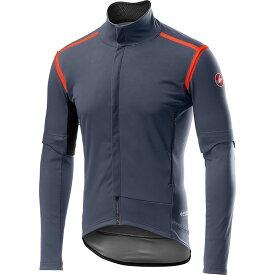 カステリ Castelli メンズ 自転車 ジャケット アウター【Perfetto RoS Convertible Jacket】Dark Steel Blue