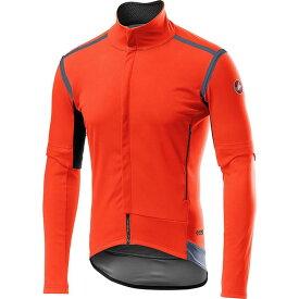 カステリ Castelli メンズ 自転車 ジャケット アウター【Perfetto RoS Convertible Jacket】Orange