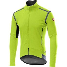 カステリ Castelli メンズ 自転車 ジャケット アウター【Perfetto RoS Convertible Jacket】Yellow Fluo