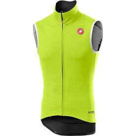 カステリ Castelli メンズ 自転車 ベスト・ジレ トップス【Perfetto RoS Vest】Yellow Fluo