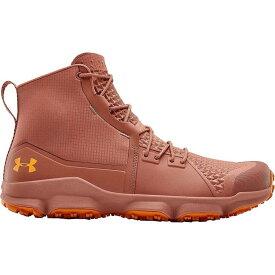 アンダーアーマー Under Armour メンズ ハイキング・登山 ブーツ シューズ・靴【Speedfit 2.0 Hiking Boot】Cedar Brown/Persimmon/Persimmon