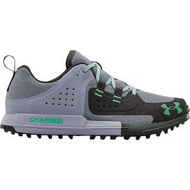 アンダーアーマー Under Armour レディース ハイキング・登山 シューズ・靴【Syncline Edge Hiking Shoe】Purple Dusk/Jet Gray/Vapor Green