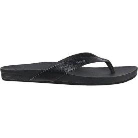 リーフ Reef レディース ビーチサンダル シューズ・靴【Cushion Bounce Court Flip Flop】Black