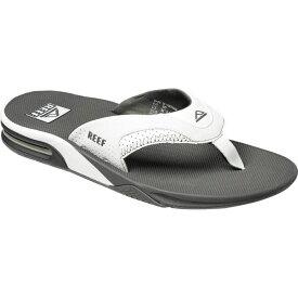 リーフ Reef メンズ ビーチサンダル シューズ・靴【Fanning Flip Flop】Grey/White