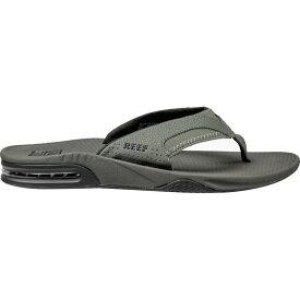 リーフ Reef メンズ ビーチサンダル シューズ・靴【Fanning Flip Flop】Grey/Black