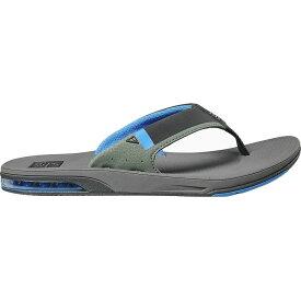 リーフ Reef メンズ ビーチサンダル シューズ・靴【Fanning Low Flip Flop】Grey/Blue