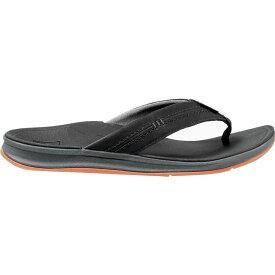 リーフ Reef メンズ ビーチサンダル シューズ・靴【Ortho - Bounce Coast Flip Flop】Black