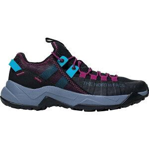 ザ ノースフェイス The North Face レディース ランニング・ウォーキング シューズ・靴【Trail Escape Edge Shoe】Tnf Black/Festival Pink
