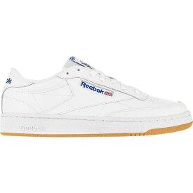 リーボック Reebok メンズ スニーカー シューズ・靴【Club C 85 Sneaker】Int-White/Royal-Gum