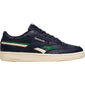 リーボック Reebok メンズ スニーカー シューズ・靴【Club C Revenge Sneaker】Vector Navy/Utility Green/Alabaster
