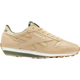 リーボック Reebok メンズ スニーカー シューズ・靴【CL Leather AZ Sneaker】Utility Beige/Utility Green/Chaulk