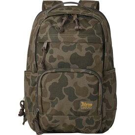 フィルソン Filson レディース バックパック・リュック バッグ【Dryden Backpack】Dark Shrub Camo