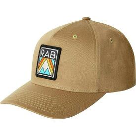 ラブ Rab レディース キャップ 帽子【Base Cap】Old Gold Aztec